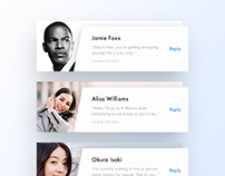 Daily UI - 41 to 50