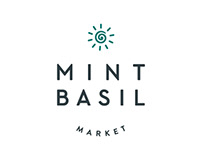 Mint Basil Market – health market brand identity