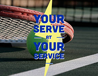 Enel - ATP London. Your serve at your service.