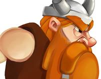 The Lost Vikings | Art Bible