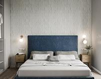 Interior 3D Render of Bedroom in Kiev, UA
