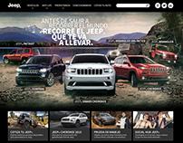 Jeep Website Design / UX/UI design