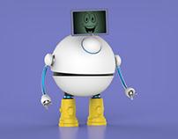 I ROBOT - 3D PROJECT