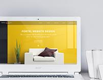 Fortel Interiors_Website Design