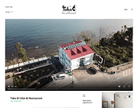 Taka 61 Otel & Restaurant Branding, Web and etc.
