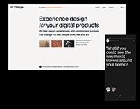 C.Things. Agency website