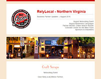 Email Newsletter for RelyLocal