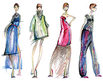 Jakarta- Fashion Illustrations