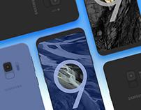 Samsung Galaxy S9 Vector PSD