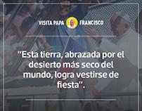 Cobertura gráfica-visita Papa Francisco a Chile