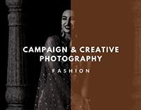 Campaign & Creative Photography (Fashion)