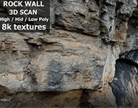 3D SCAN ROCK WALL Test Video