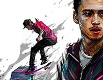 Skateboarding- Nyjah Huston