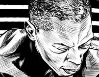 Parkett - Jeff Mills // Illustration