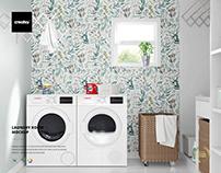 Laundry Room Mockup