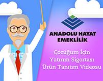 Anadolu Hayat Emeklilik   Ürün Tanıtım Videosu