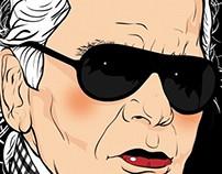 칼 라거펠드(Karl Lagerfeld) 1+1=N°5