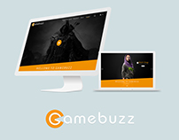 Gamebuzz Web Concept