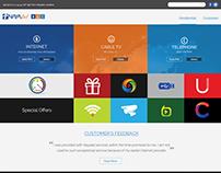 Nayatel Website Design