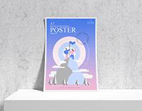 Branding A3 Poster Mockup Free