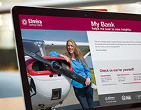 """Our Bank"" Ad Campaign - Elmira Savings Bank"