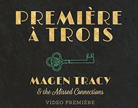 Premiere a Trois - Show Flier and Matchbooks