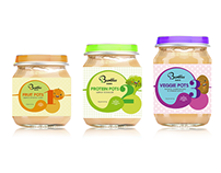 Bumbles Babies - Baby Food Packaging