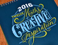 2016- 12 Months of Creative Inspiration