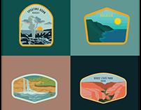 Kauai Badges