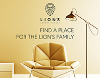 Social media campaign for Lion's Luxury Houses