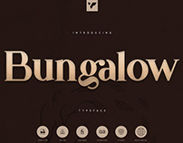 Bungalow Typeface   Free Download