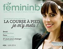 2014 - Couverture iPad - Fémininbio