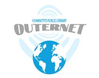 Outernet Preliminary T-Shirt & Logo Design