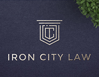 Iron City Law Logo