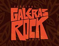 FESTIVAL GALERAS ROCK 2015 - Cartel