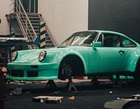 RWB Porsche 930 Shinkiro - building video