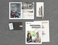 English course brochure design