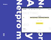 Netpro agensy | UI/UX |