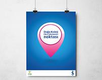 Türkiye İş Bankası Doğa koleji - Afiş Tasarımı
