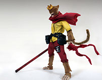 J.T studio Monkey King W Flocking Ver.