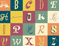 Lettering | Projeto 26 letras