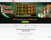 LANDING PAGE - BUILD GAME - CASINO