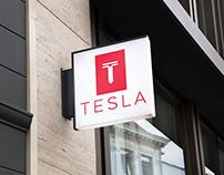 Tesla Brand Redesign