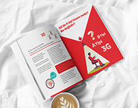 Vodafone Editorial Design