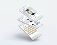 House of Hazel UI/UX design