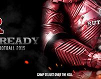 Scarlet Knights Football #BattleReady Social Media Ad