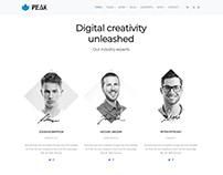 Team Members View - Peak WordPress Theme