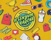#SenyumKarena - Activation Event