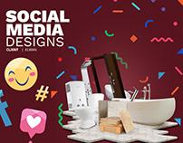 Social Media Designs | Elwan