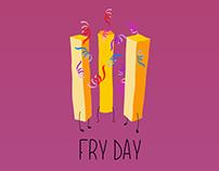 /FRY DAY/ Brand'o komunikacija